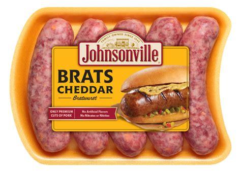 brats sausage cheddar brats johnsonville