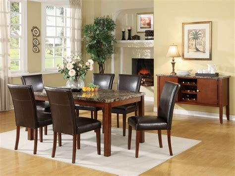 faux marble dining room table set 5 pc faux marble dining set table 3 chair bench set f2509