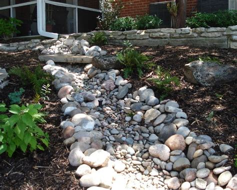 river rock garden bed river rock creek ideas for the new house
