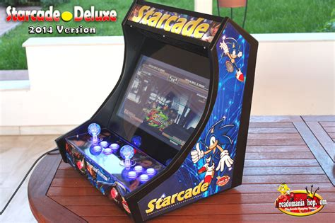 Bar Top Arcade starcade deluxe led edition bartop arcade arcadomania shop