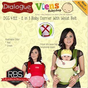 Gendongan Bayi Merk Dialogue gendongan tas merk dialogue baby trendy tapi tetap