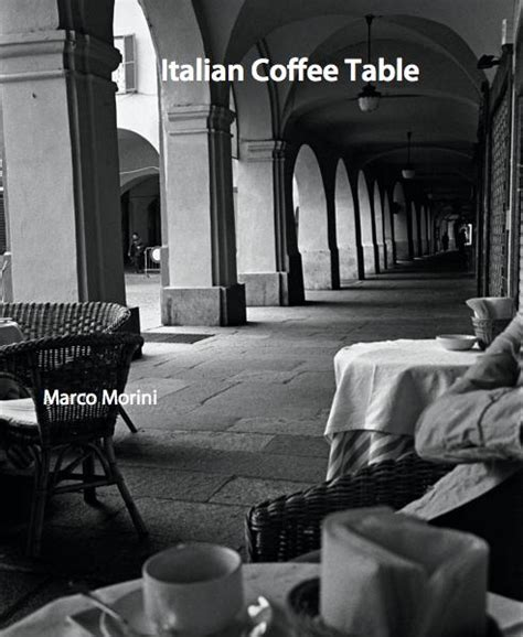 italian coffee table by marco morini portfolios blurb books