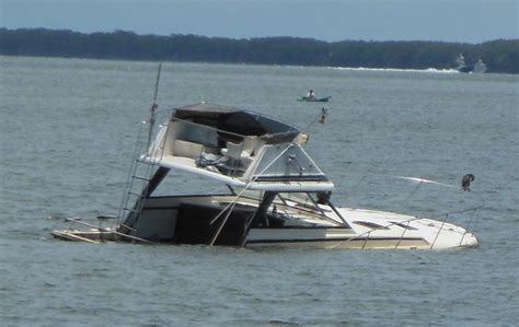 sunken boat the marine installer s rant yacht certified whats that mean