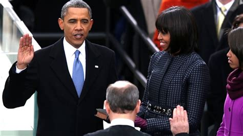 President Oath Of Office by President Obama Takes Oath Of Office At 2013 Inauguration