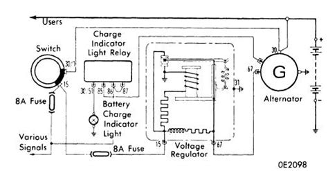 nippondenso external voltage regulator wiring diagram