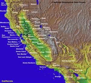 California County Map California