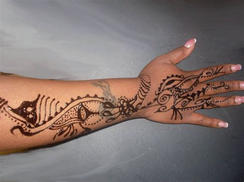 henna tattoo back of arm arabic mehndi free henna designs