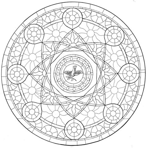 the rose window inked by silntangl5 on deviantart
