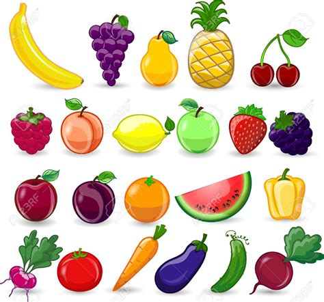 Drawing Vegetables by Drawing Pictures Of Fruits And Vegetables At Getdrawings