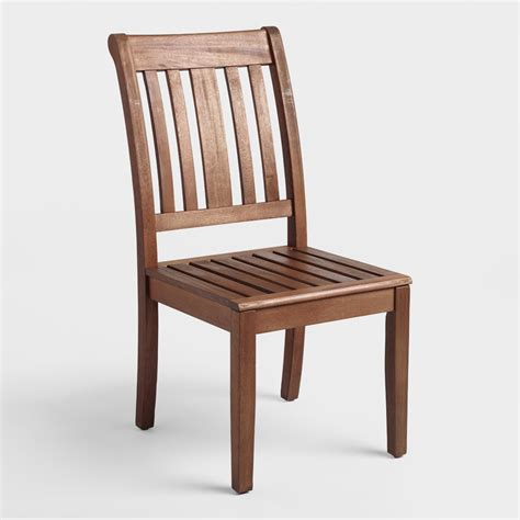 Dining Chairs World Market Wood St Martin Dining Side Chair World Market