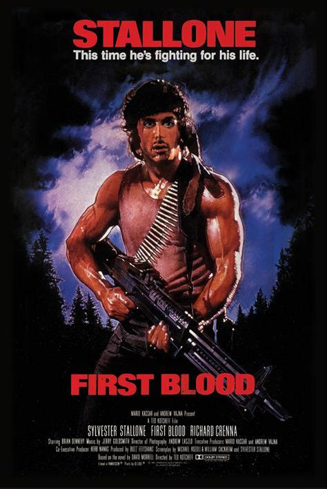 film rambo first blood rambo posters rambo poster pp31425 panic posters