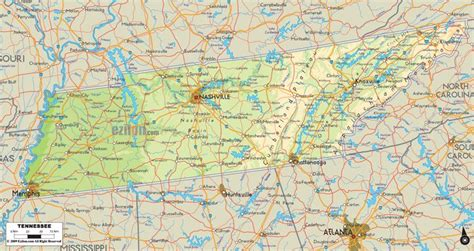 us map project ideas physical map of tennessee science project ideas