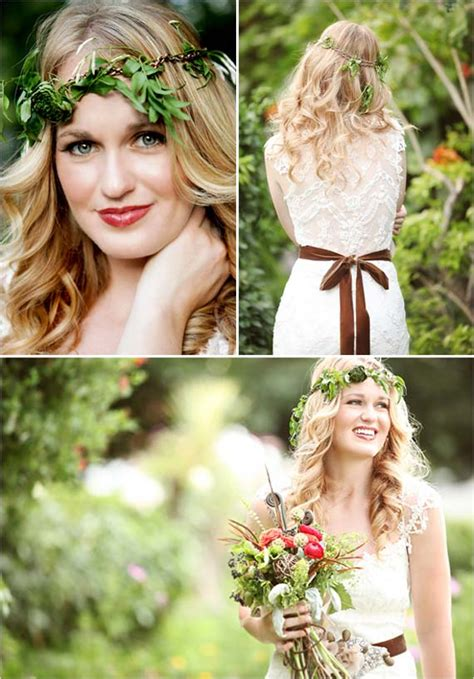 Nature Wedding Concept by Goes Wedding 187 Green Woodland Wedding Ceremony Decorations