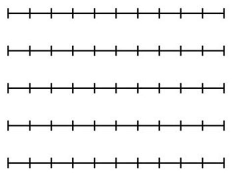 printable number washing line blank number line for any activity activities