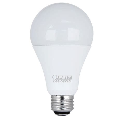 150 watt equivalent led light bulb feit electric 50 100 150 watt equivalent daylight 5000k