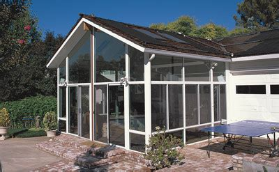 Aluminum Sunroom Solid Cathedral Roof Sun Room Or Patio Room With Aluminum