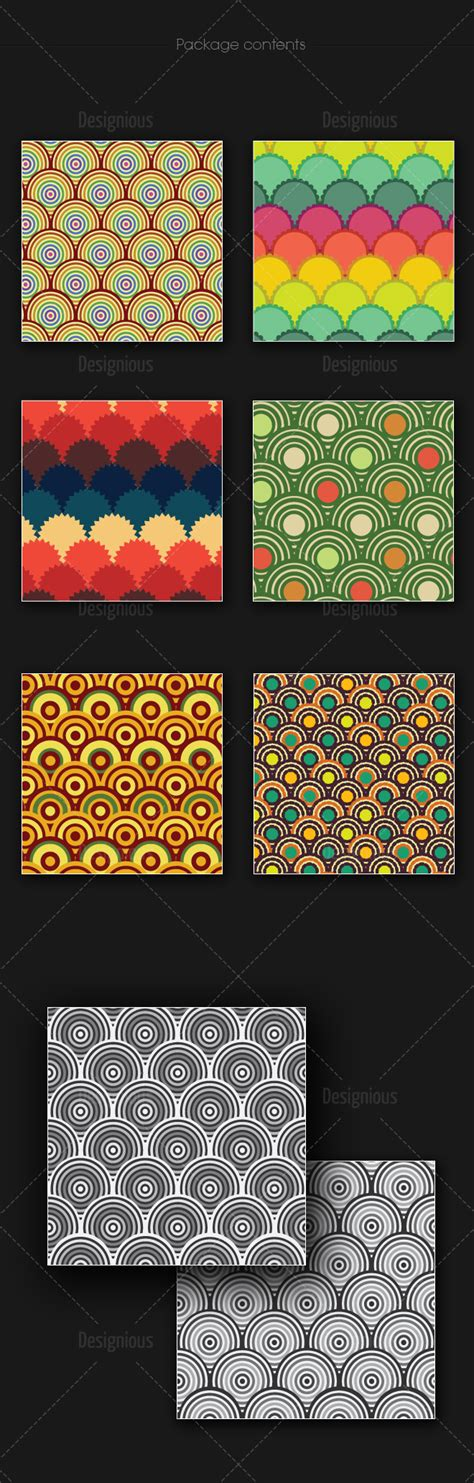 geometric seamless patterns pack vector premium download seamless patterns vector pack 163 designious