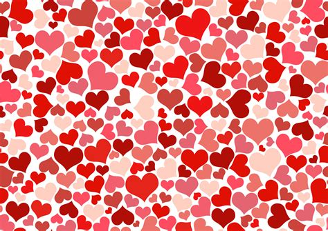 pattern of heart hearts wallpaper free stock photo public domain pictures