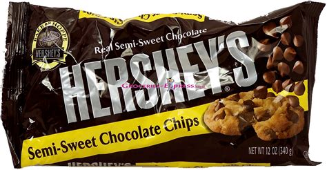 groceries express com product infomation for hershey s semi sweet chocolate baking chips quot 3400014830