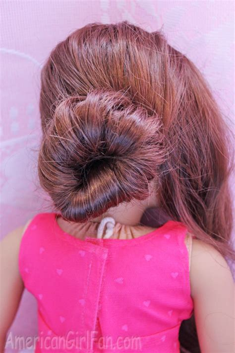 hairstyles fancy buns doll hairstyle fancy buns for easter americangirlfan