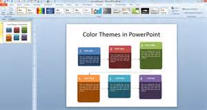Powerpoint Template Color Scheme by Working With Custom Color Palettes In Powerpoint 2010