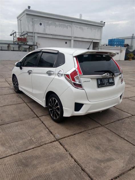 Alarm Mobil Honda Jazz Rs honda jazz rs matic 2016 putih km 3000 mobilbekas