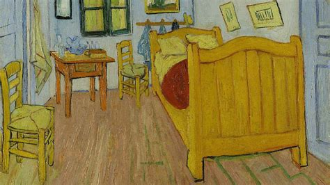 Gogh Bedroom Purple Detectives Find The Faded Colors In Gogh S