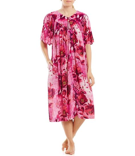go softly floral crinkled patio dress dillards