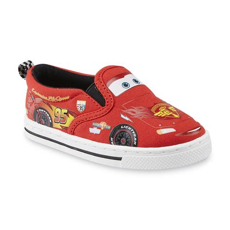 Disney Shoes Cars by Disney Toddler Boy S Cars Lightning Mcqueen Canvas Shoe