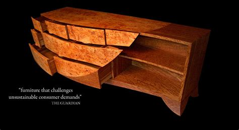 bespoke contemporary furniture in wood sustainable