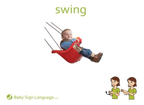 sign for swing swing
