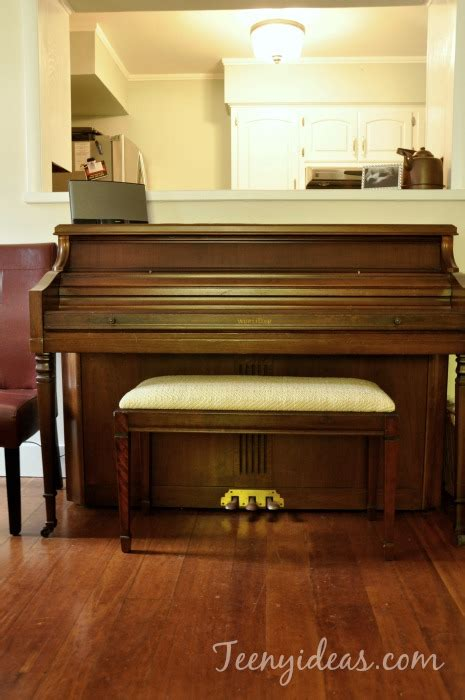 how to upholster a piano bench how to upholster a piano bench tutorial teeny ideas