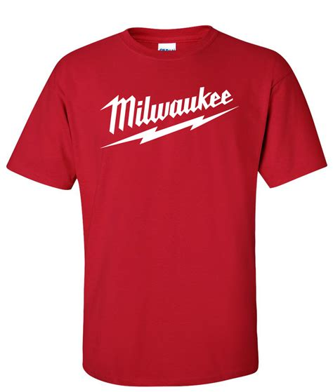 Tools T Shirt milwaukee tools logo graphic t shirt supergraphictees