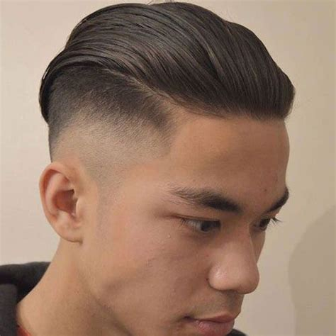 how to wear slick back natural hair 31 good haircuts for men taper fade slicked back hair