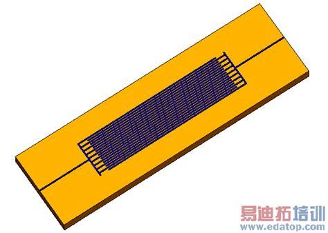 interdigital capacitor interdigital capacitor cst2013 mws exles