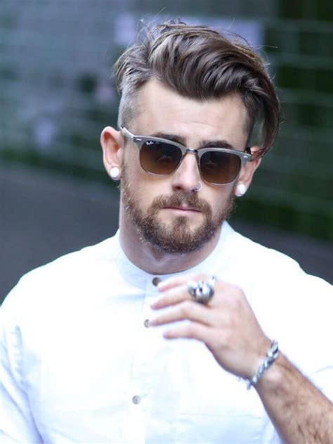 boys hairstyle really short sides long top cool men s hairstyles for summer 2016 page 8