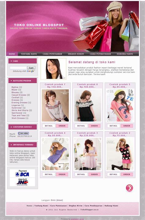 membuat website toko online dengan blogspot cara membuat toko online dengan blogspot nothing is