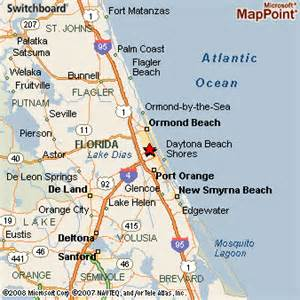 daytona map florida daytona florida