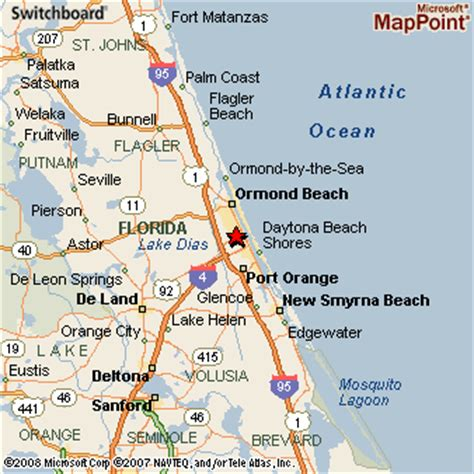 map daytona florida daytona florida