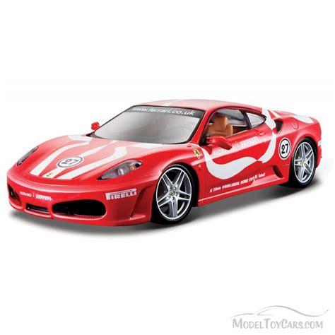 toy ferrari model cars ferrari f430 fiorano hard top red bburago 26009 1 24