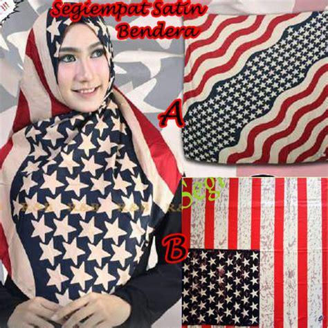 Jilbab S4 Satin Motif Mix sale stock segiempat bendera satin ab sentral grosir jilbab kerudung i supplier jilbab i