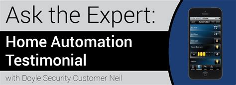 ask the experts home automation testimonial