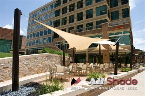 Houston Awnings Restaurant Awning Canopy Shade Sail Shade Structure 3