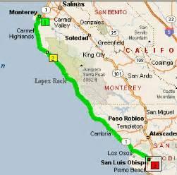 Northern california road trip itinerary