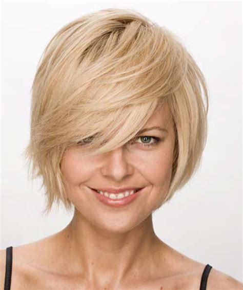 cute layered short blonde bob hairstyle with bangs 20 bob short hair styles 2013 short hairstyles 2017