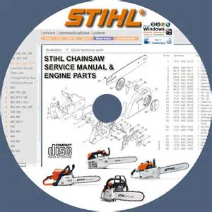 Stihl chainsaw mse140 mse160 mse180 e220 service repair manuals