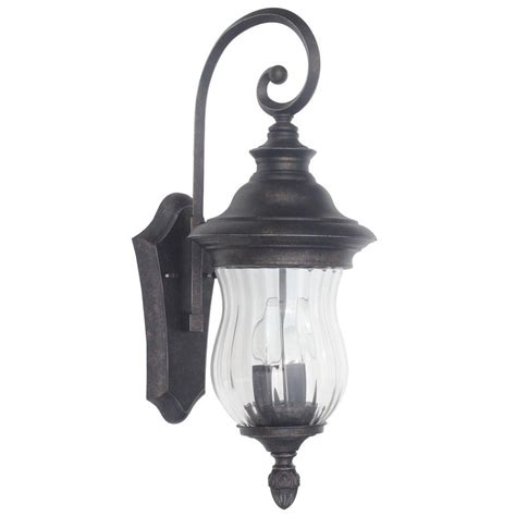 home decorators collection lighting home decorators collection wesleigh 2 light bronze outdoor