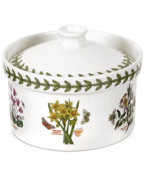 Portmeirion Botanic Garden Dinnerware Portmeirion Dinnerware Botanic Garden Mini Casserole Dinnerware Dining Entertaining Macy S