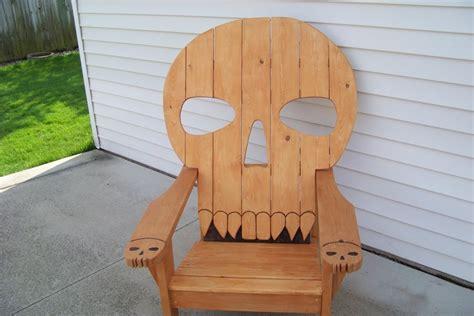 skull chair  mikede  lumberjockscom woodworking