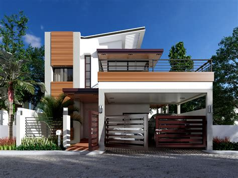 contemporary home design e7 0ew mhd 2014012 view1 philippines house designs pinterest